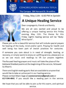 Special Healing Service