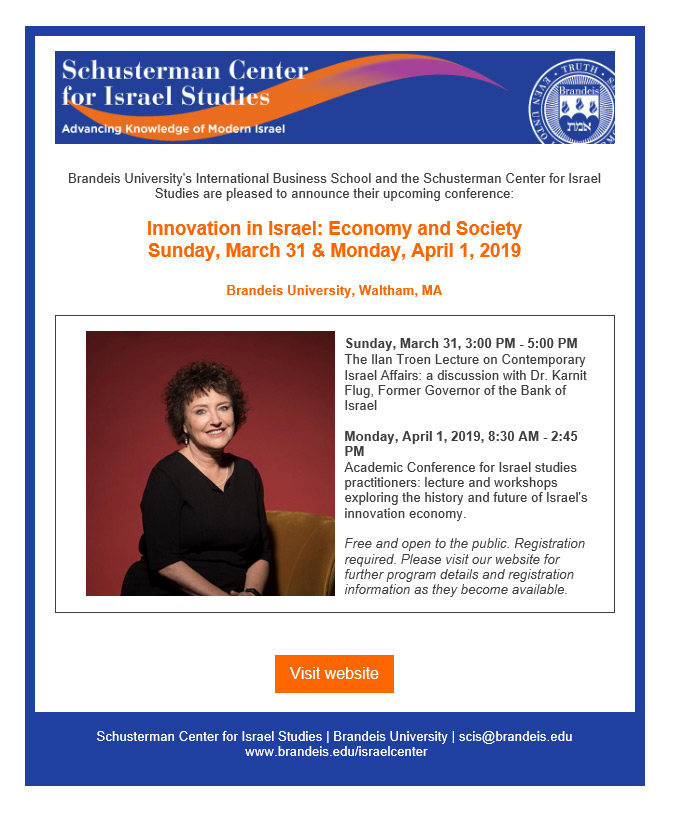 Innovation in Israel Conference: Economy and Society