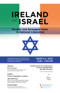 Ireland and Israel - Parallel & Divergent Paths in National Liberation