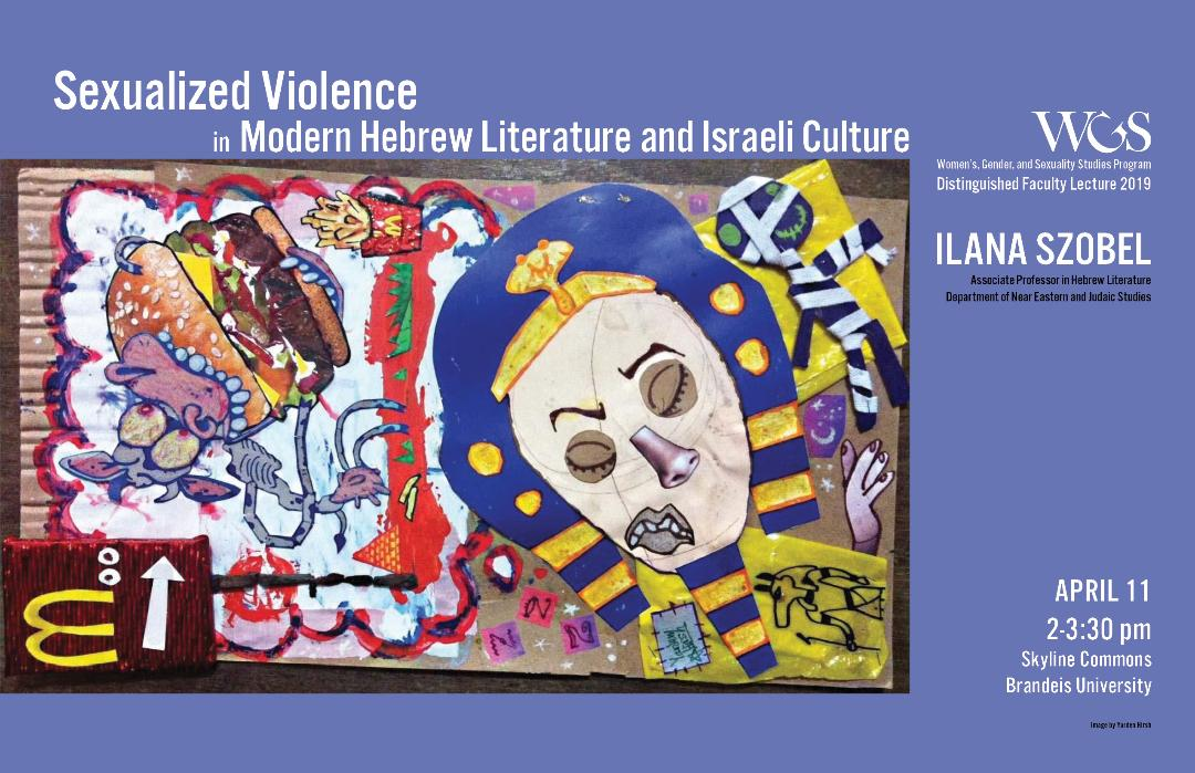 Sexualized Violence in Modern Hebrew Literature and Israeli Culture