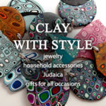 Clay with Style jewelry and household accessories