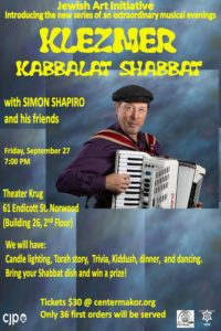 Klezmer Kabbalat Shabbat