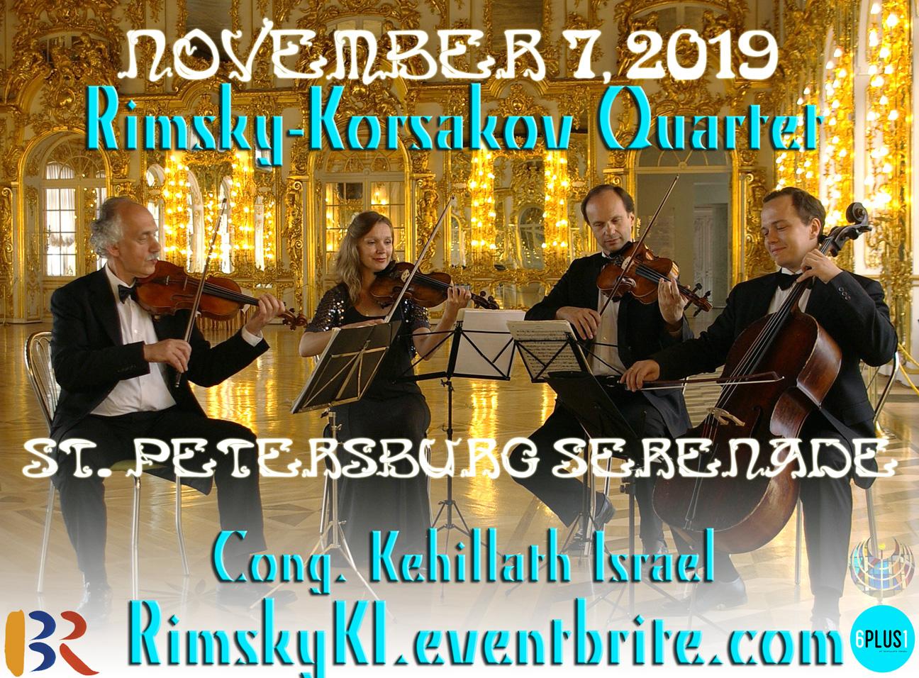 St Petersburg Serenade: Rimsky-Korsakov Quartet in Concert
