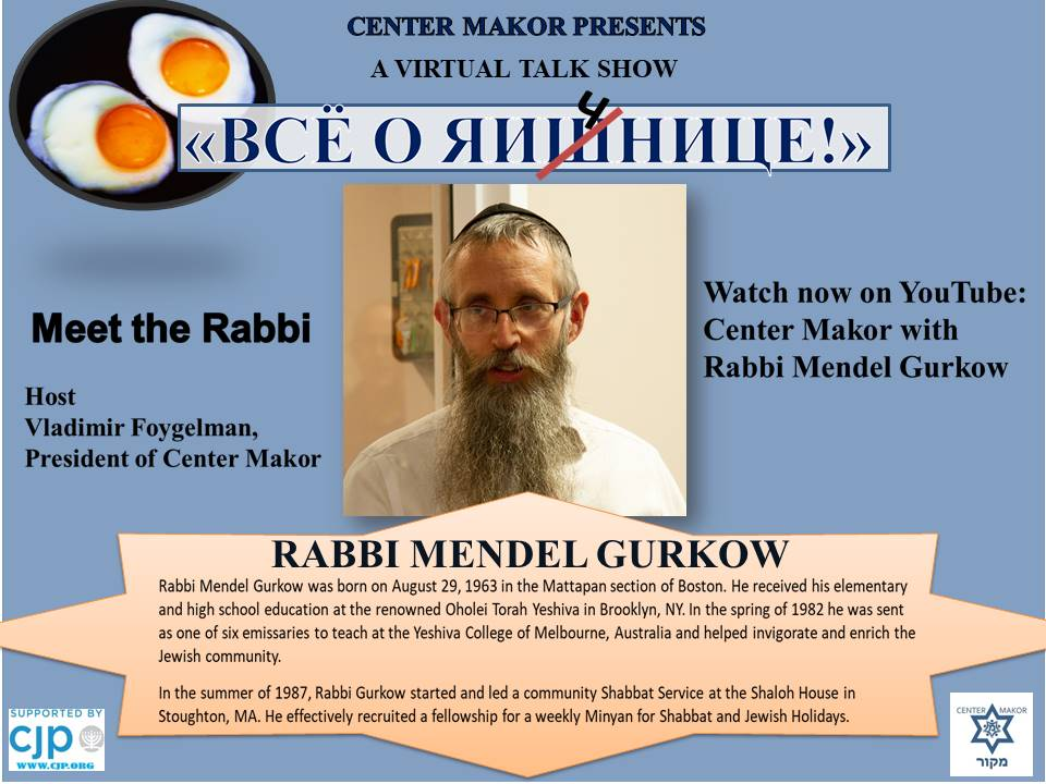 Rabbi Mendel Gurkow