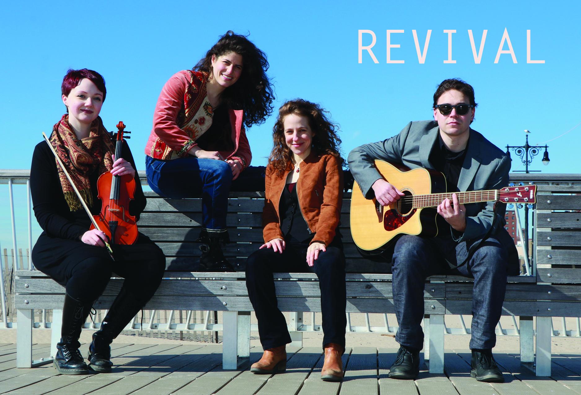 Revival: A {FREE} Jewish Folk-Rock Concert