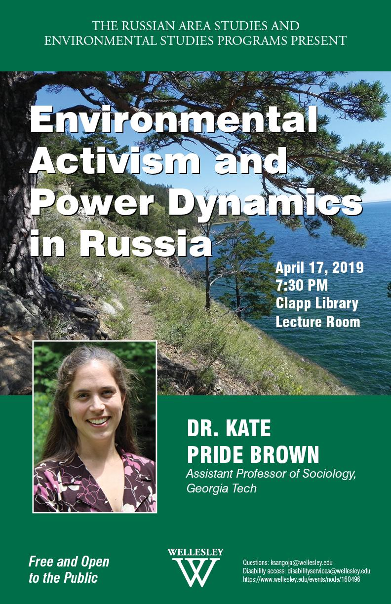 Environmental Activism and Power Dynamics in Russia