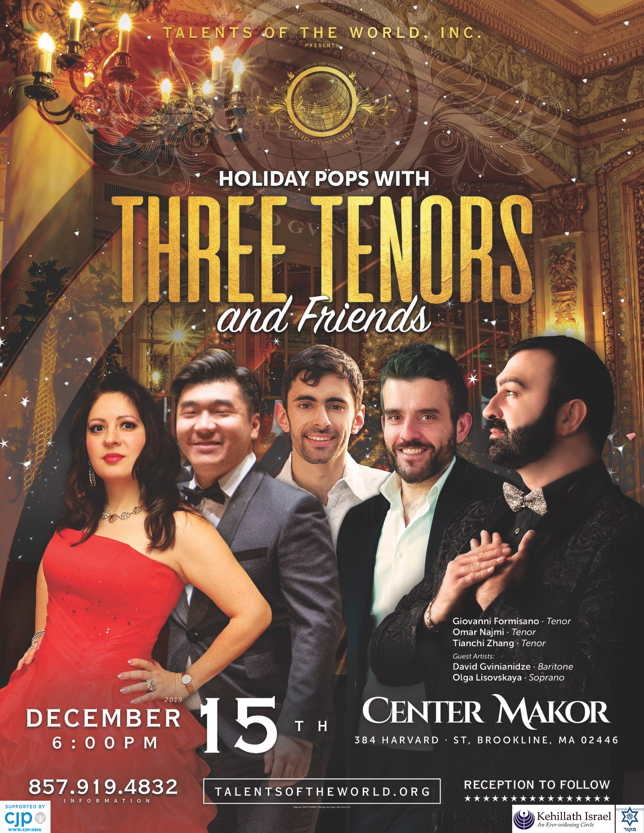 Holiday Pops with Three Tenors, and friends