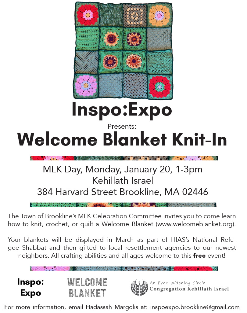Welcome Blanket Knit-In