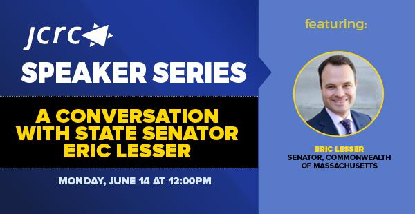 A Conversation with State Senator Eric Lesser