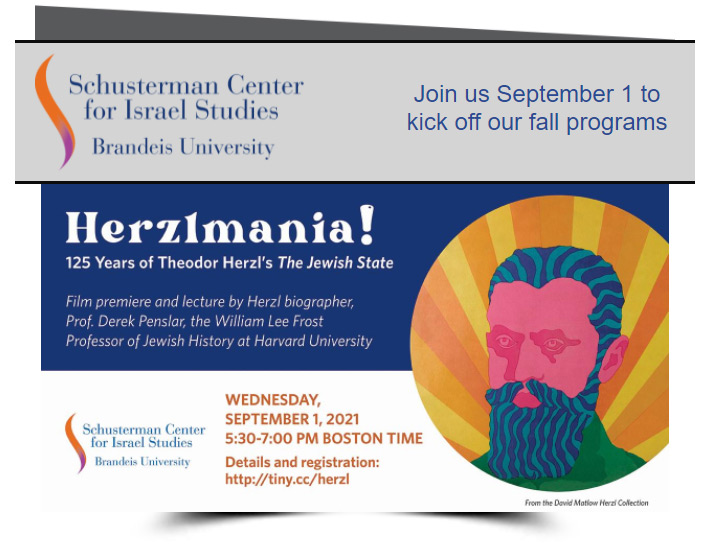 Herzlmania! 125 years of Theodor Herzl's The Jewish State