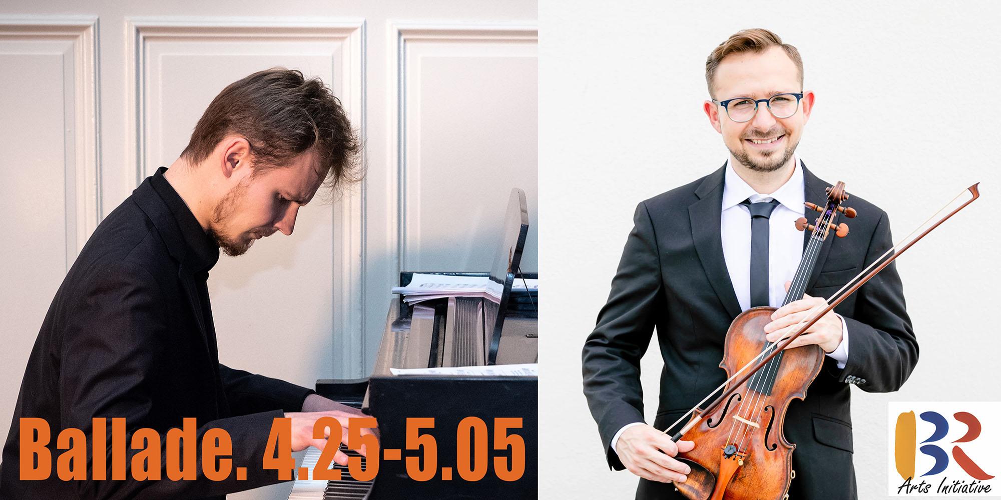 BALLADE: Violin and Piano Concert in memory of GORDON LANKTON