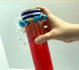 The Red Sea Sensory Bottle: Miriam's Edition