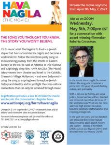 Hava Nagila (The Movie) & Conversation with Director Roberta Grossman